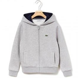 Lacoste Gris Chine/ Bleu Marin Sweatshirt-20
