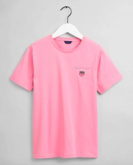 Medium Shield SS T-shirt, sea pink-20