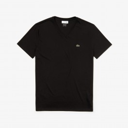 Lacoste 3 V-neck Slim T-shirts black-20