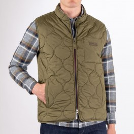 Docksides Quilted Vest, utility green-20