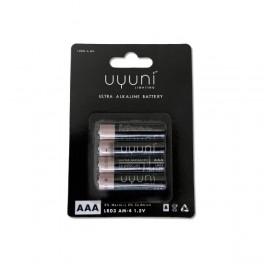 Batteries AAA, 1,5V, 1000mAh – 4 pack-20