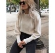 Kelsey knit blouse - off white