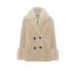 Fiona Wool Coat Short, Beige