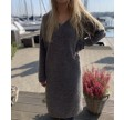 Oh So Soft Dress, Dark Grey Melange