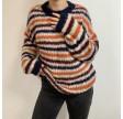 Kala Knit Sweater, Multi Green Blue