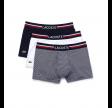 Lacoste 3-pack Men's trunks/boxers - White/striped/navy
