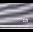 Oxford Striped Dækkeserviet, Blå