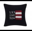 Lexington Flag Knitted Pudebetræk, Blue/White