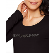 L/S round neck t-shirt, black