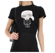 Ikonik Karl T-shirt, Black