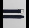 Classic suede belt - evening blue