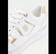 Interlock city sneaker - white