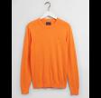 Crewneck sweater af bomuld og kashmir