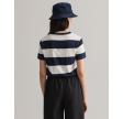 Striped nautical ss tshirt - evening blue