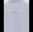 Pique stripe slim - persian blue