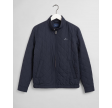 Quilted wind cheater - evening blue