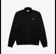 Lacoste sweatshirt med lynlås - sort