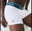 Lacoste Trunks 3 Pack - White