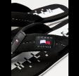 Hilfiger badge beach sandel - black