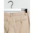 Relaxed linen pants - dry sand