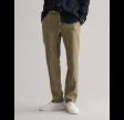 Relaxed linen pants - aloe green