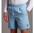 Plain swim shorts - pool blue