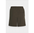 Plain swim shorts - trek green