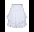 Line solid skirt - white