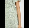 Vilovie s/s wrap midi dress - cashmere blue