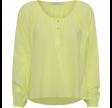 Linnet cotton shirt - lime