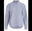 Vila Viduffy shirt - Blue/white