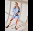 Vila Viduffy shorts - Blue/white