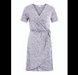 Vila Vinayeli wrap s/s dress - lavender