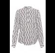 RUE de FEMME Dot shirt - hvid/sort