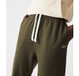 Unisex Organisk Bomuld Fleece Jogging Bukser - Khaki Grøn